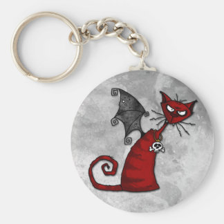 doom kitty keychain