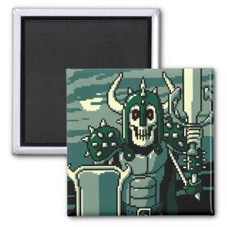 Doom Knight 2 Inch Square Magnet