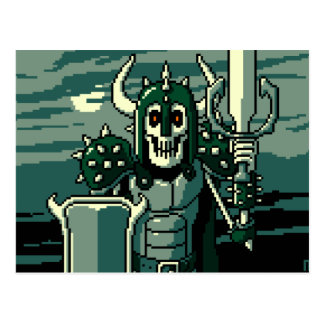 Doom Knight Postcard