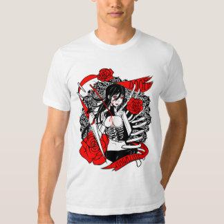 """DOOM! Magazine """"Roses"""" Unisex T-Shirt"""