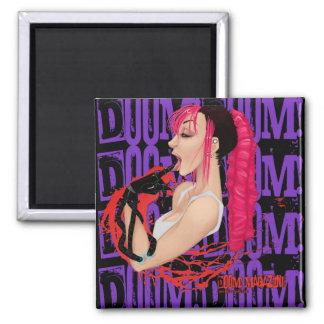 "DOOM! Magazine ""Z"" Purple Magnet"