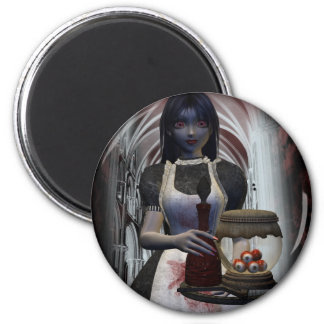 Doom Service 2 Inch Round Magnet