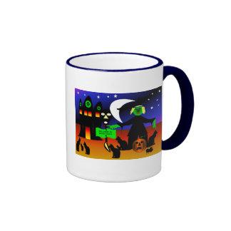 Doom Town Ringer Mug