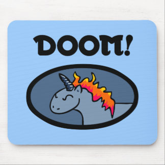 Doom Unicorn Mouse Mat