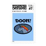 Doom Unicorn Postage