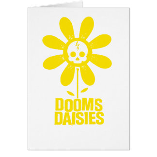 Dooms Daisies Card