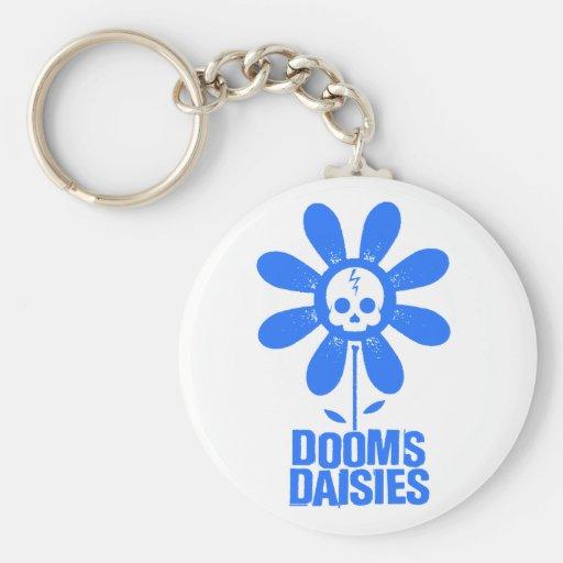 Dooms Daisies Keychains