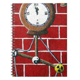 Dooms Day Clock Spiral Notebook
