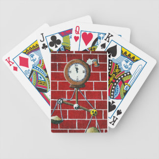Dooms Day Clock Bicycle Playing Cards