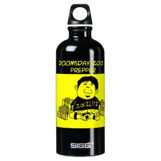 Doomsday 2012 Prepper Aluminum Water Bottle