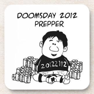 Doomsday 2012 Prepper Coaster