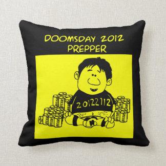 Doomsday 2012 Prepper Pillow