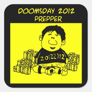 Doomsday 2012 Prepper Sticker