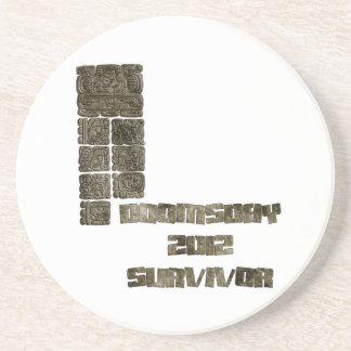 Doomsday 2012 Survivor Beverage Coaster