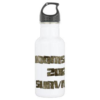 Doomsday 2012 Survivor Water Bottle