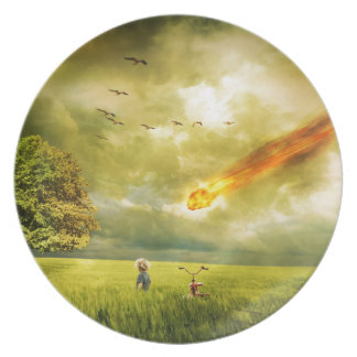Doomsday Dinner Plate