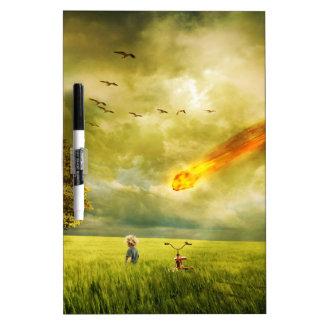 Doomsday Dry Erase Board