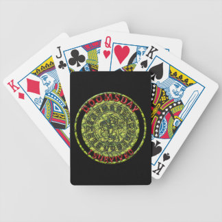 Doomsday - I survived | Maya Prophecy Bicycle Playing Cards