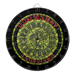 Doomsday - I survived | Maya Prophecy Dartboard With Darts