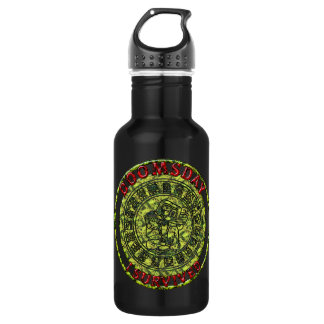 Doomsday - I survived | Maya Prophecy Stainless Steel Water Bottle