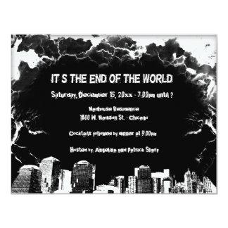 Doomsday Party Specialty Invitation