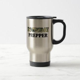 DoomsDay Prepper 15 Oz Stainless Steel Travel Mug