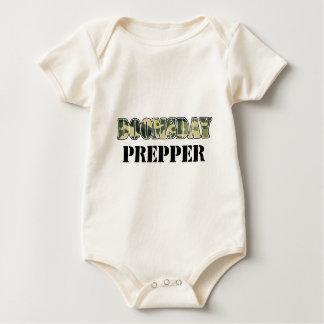 DoomsDay Prepper Baby Bodysuit