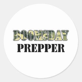 DoomsDay Prepper Classic Round Sticker