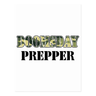 DoomsDay Prepper Postcard