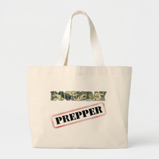 DoomsDay Prepper Stamp Tote Bags