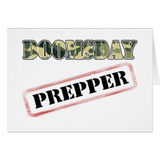 DoomsDay Prepper Stamp Card