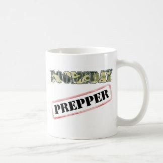 DoomsDay Prepper Stamp Classic White Coffee Mug