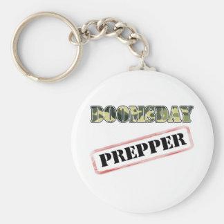 DoomsDay Prepper Stamp Keychain
