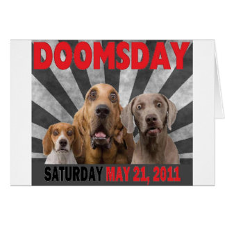 Doomsday - Rapture  May 21, 2011 Card