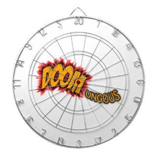 Doomungous Dartboard With Darts