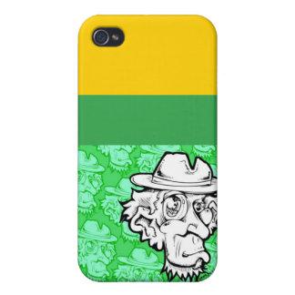 Dooofus2010_grn, grn, blk, Yellow, maroon, Bree... iPhone 4/4S Case
