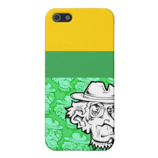 Dooofus2010_grn, grn, blk, Yellow, maroon, Bree... iPhone SE/5/5s Cover