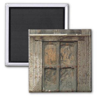 Door 2 Inch Square Magnet