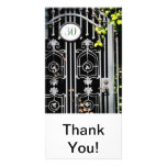 Door 30 customized photo card