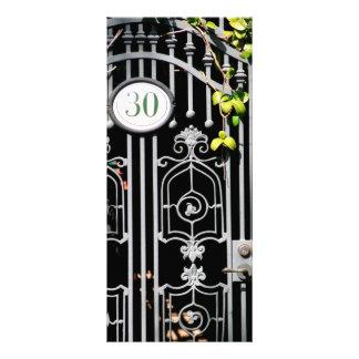 Door 30 custom rack cards