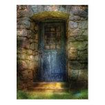 Door - A rather old door leading to somewhere Post Card