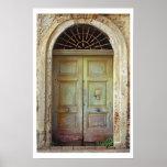 Door-Acciaroli,Italy Print