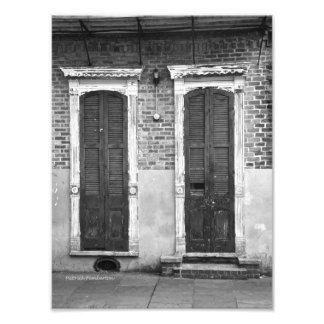 Door And Window - fine art photography Photo Print