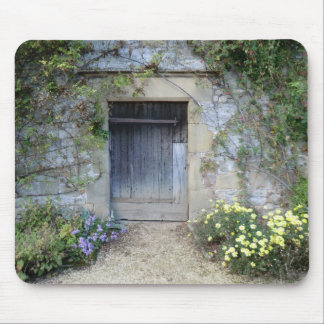 Door at Haddon Hall in Derbyshire Mouse Pad