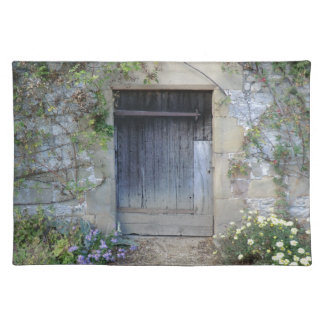 Door at Haddon Hall in Derbyshire Place Mat