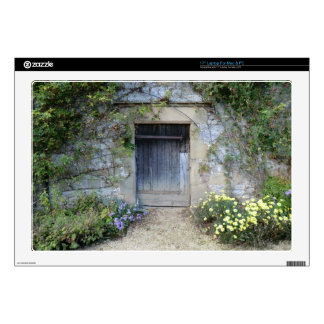 "Door at Haddon Hall in Derbyshire 17"" Laptop Decal"