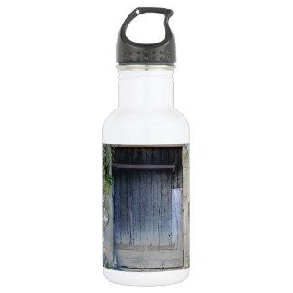 Door at Haddon Hall in Derbyshire Stainless Steel Water Bottle