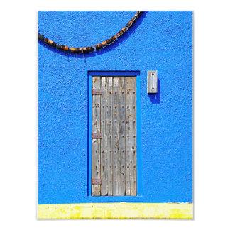 Door At Sponge Docks Photo Print