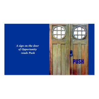 Door Business Card Template