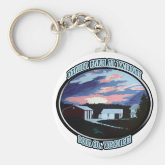 Door Co. , WI Farmhouse Keychain